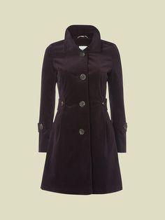 VERBIER VELVET COAT | coats & jackets | White Stuff