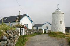 Leuchtturm auf Inishbofin Island