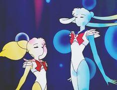 my gif sailor moon usagi transformation rini super s episode 145