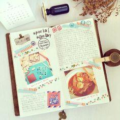 Midori Traveler's Notebook (@iverylovebeibei)