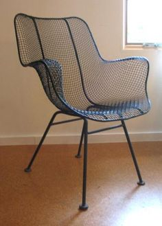 66 best woodard sculptura wire chairs images on pinterest wire