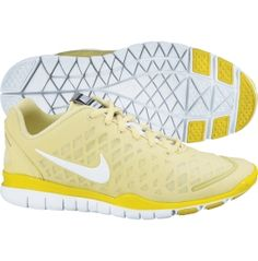 Nike Women's Free TR Fit Training Shoe in yellow