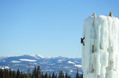 """We could climb the Ice tower """"Big White Ski Resort"""" 👍 Ultimate Social Club Vancouver City, Vancouver Island, Scary Places, Places To See, Things To Do In Kelowna, Big White Ski Resort, All About Canada, Go Skiing, Beautiful Sites"""