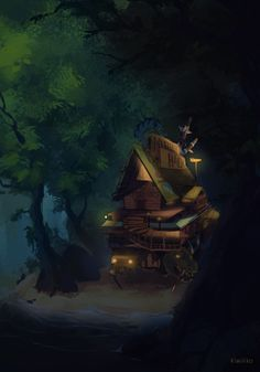 Grunkle Stan's moving Mystery Shack from the finale. More specifically now Soos' Mystery Shack