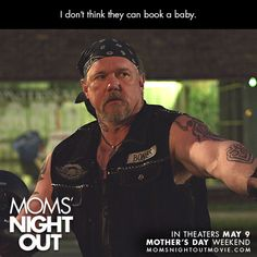 Get ready to enjoy Trace Adkins on the big screen in Moms' Night Out releasing May 9!