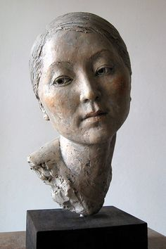 Suzie Zamit is a portrait sculptor who works mainly in clay. Recent sculpture commissions include Charles Bradlaugh MP for the Palace of Westminster Portrait Sculpture, Sculpture Head, Sculptures Céramiques, Ceramic Sculptures, Photo Sculpture, Ceramic Sculpture Figurative, Figurative Art, Ceramic Figures, Ceramic Art