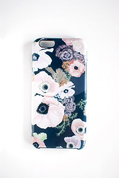 UNE FEMME floral iPhone 6/6S iPhone 6/6S PLUS by KhristianAHowell