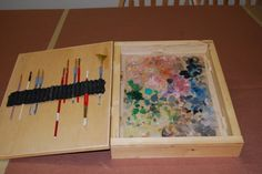 Paint Storage - Genesis Heat Set Paints