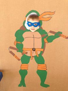 Ninja Turtle Party:  Photo Op!