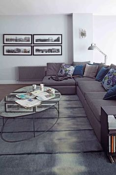 Gray living room ideas - how to get this shade right | Livingetc Living Etc, Luxury Decor, Living Room Grey, Guest Bedrooms, Modern House Design, Victorian Homes, Home Decor Inspiration, Decor Ideas, Furniture