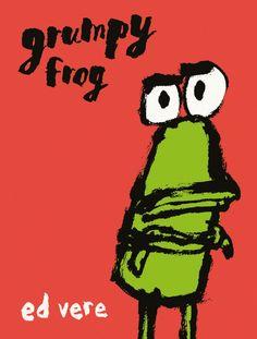"""""""Grumpy Frog"""" by Ed Vere"""