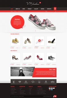 VN Fashion Website |  Designed by Weeds Brand by Weeds Brand, via Behance
