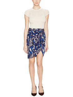 Wrap skirt from Isabel Marant - it's really difficult to find office-appropriate skirts with lots of color and personality!