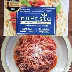 Have I been living under a rock? This pasta is amazing and this huge portion is only 25 calories!! nupasta #healthy
