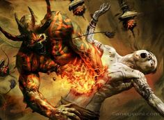 Fallen Angels vs Demons | ... the Dungeon » Episode Fifty-Six – Angels & Demons, Part Two, Demons