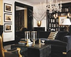 Design styles inspy found blogging :) LOVE the B&W with gold!