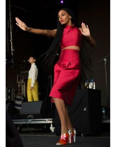 Solange Knowles, en concert en Australie