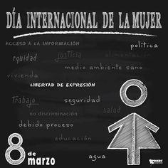 #8deMarzo #DíaInternacionaldelaMujer