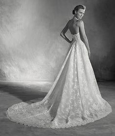 Edith - Brautkleid mit herzförmigem Dekolleté