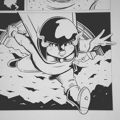 Stand back... I'm breaking into comics!  #LilithDark #art
