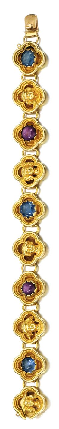 Diamond Bracelets – Page 7 – Fine Diamonds Old Jewelry, Vintage Jewelry, Gothic Elements, Sapphire Bracelet, Quatrefoil, Belle Epoque, Anthropology, Girls Best Friend, Blue Sapphire