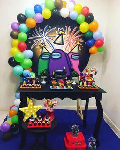 7th Birthday Party Ideas, 11th Birthday, Birthday Fun, Birthday Party Decorations, Tsumtsum, Party Time, Amon, Action Game, Ideas Para