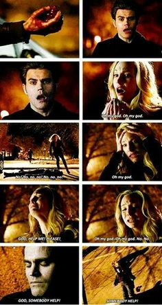 The Worst moment on the Vampire Diaries... Stefan's Death