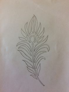 Design To Draw Patterns Feathers 51 Ideas For 2019 design Peacock Embroidery Designs, Hand Embroidery Design Patterns, Kurti Embroidery Design, Hand Embroidery Dress, Hand Embroidery Videos, Hand Embroidery Stitches, Beaded Embroidery, Feather Sketch, Feather Drawing