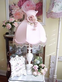 mariondee-designs: my vintage china cabinet..