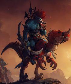 29 Best Voljin Images For The Horde Horde Fantasy Characters