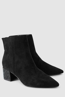 de36c774735b1 Black Forever Comfort Formal Ankle Boots (568947) | $80 | Queer Ball ...