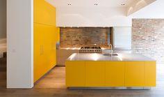Kitchen that makes me smile! TinTab/PowellTuck