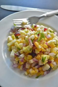 Dishing With Divya: Fresh Apple Salsa Recipe