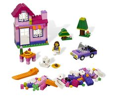LEGO Pink Brick Box by Lego Systems, Inc. - $17.95
