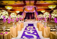 Traditional Indian Wedding planner in antalya turkey Wedding Mandap, Desi Wedding, Wedding Stage, Purple Wedding, Wedding Ceremony, Wedding Venues, Indian Wedding Decorations, Ceremony Decorations, Wedding Themes