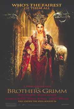 Who's the fairest of them all.... Brothers Grimm (2005) #Movie by Terry Gilliam with Monica Bellucci as Mirror Queen. #CostumeDesign by  Gabriella Pescucci