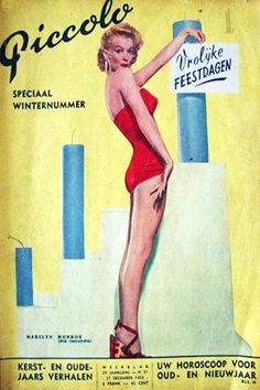 Marilyn Monroe magazine cover