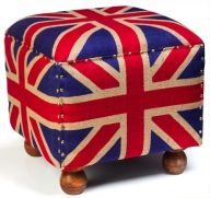 Union Jack Footstool in Winter 2013 from BBC America Shop on shop.CatalogSpree.com, my personal digital mall.