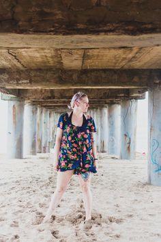 Outfit para ir a la playa . Pinamar 2015. Blogger