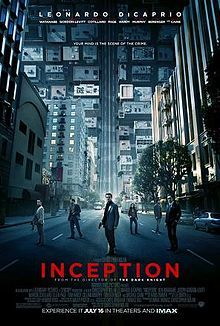 Inception. One of my favorite movies. I have been waiting for a movie this good for a long time. Now they just need to take unique ideas like this and make even greater movies!