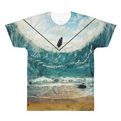 'Tsunami' Sublimation Tee
