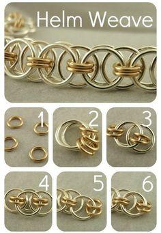 Choker Kit  Parallel Chain or Helm Weave by UnkamenSupplies, $36.00
