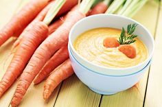 This yummy Carrot Apple Ginger Soup is a recipe that is packed with nutrients for healing and detoxification. #soups #recipes #carrots