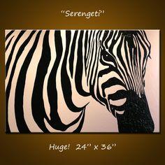 Original große abstrakte Malerei moderne von AmyGiacomelli auf Etsy