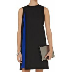 Alexander Wang Contrast Slit Crepe Dress NWT, fits TTS but intended to be a loose fit (see model) Alexander Wang Dresses Mini