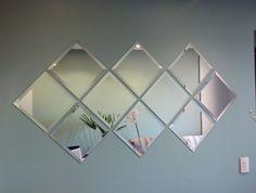 espelhos bisotados