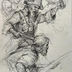 Art of Karl Kopinski Pirates!