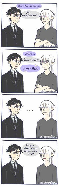 Jumin, Zen, Mystic Messenger