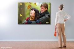 Quadro em Tecido Canvas o mesmo usado em pintura a óleo - 60x80cm