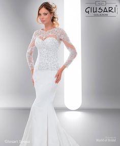 2de9d8989a993 Beyaz Güpür Detay Kemerli Balık, 2019 | Gülçin | Formal dresses ...